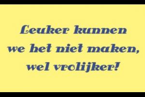 Slogan van een website