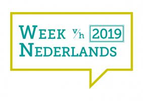 Logo Week van het Nederlands 2019