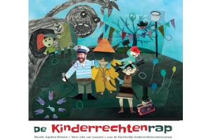 Cover of the CD De Kinderrechtenrap