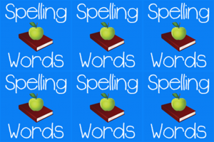 Logo Spelling Words