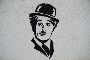 drawing by Charlie Chaplin