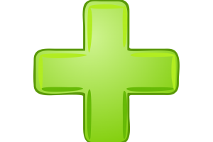 groen plusteken