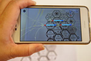Smartphone with Sci-i app