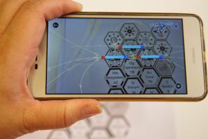 Smartphone met Sci-i app