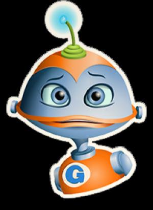 Robotje van Gynzy.