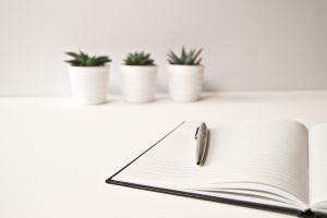 Balpen en schrift