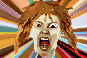 clipart of The Scream of Munch