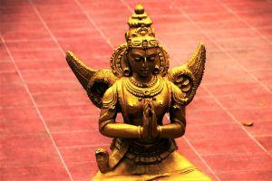 standbeeld van een hindoegod