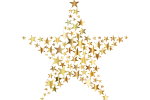 a star that consists of all little stars