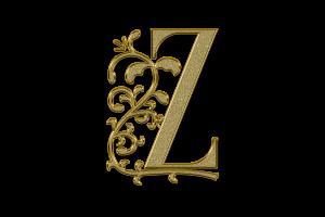 hoofdletter Z