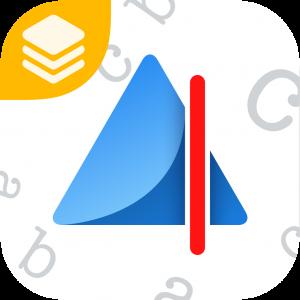 De logo van de app