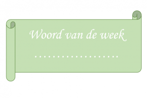 Diploma met 'woord van de week'