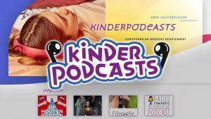 The logo of the children's podcasts website