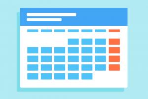 icoon voor kalender