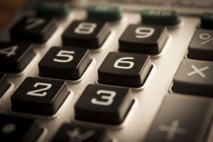 Toetsen van een rekemachine