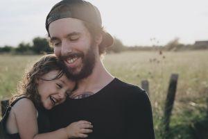 Papa met dochtertje