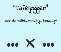 Screenshot homepage Tafeljoggen