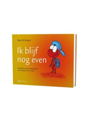 Cover boek 'Ik blijf nog even'