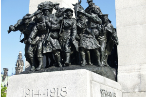 monument ter herdenking van de Eerste Wereldoorlog
