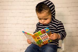 reading toddler