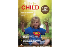 Cover van magazine Pure child met kind