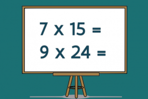 oefeningen van het type E x TE op een bord