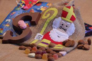 Snoepgoed en de zak van de Sint