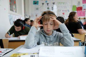 lezende leerling
