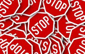 verkeersborden STOP