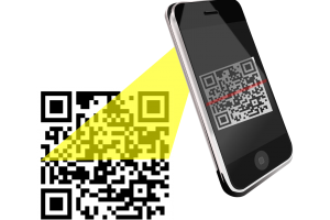 smartphone scant QR-code
