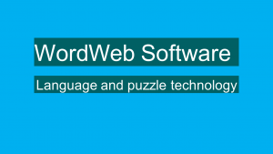 Titel WordWeb Software
