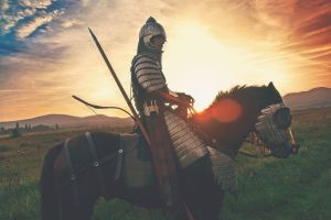 ridder op een paard