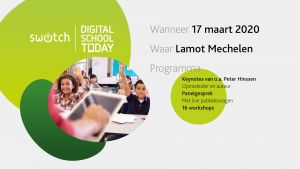 Digital School Today op 17 maart in Mechelen