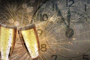 klinken op het nieuwe jaar