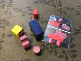blokken en blokkenfiguur