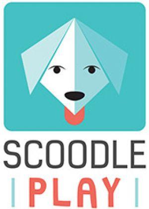 Het logo van Scoodle Play.