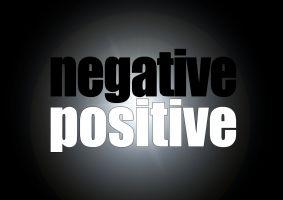 positief - negatief