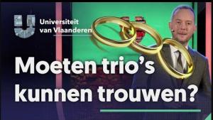 Moeten trio's kunnen trouwen?