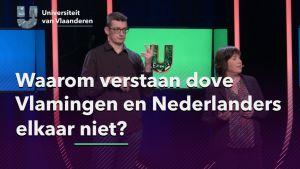 Waarom verstaan dove Vlamingen en Nederlanders elkaar niet?