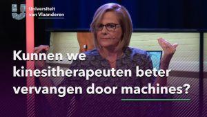 Kunnen we kinesitherapeuten beter vervangen door machines?
