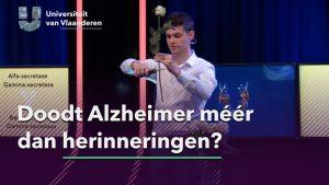 Doodt Alzheimer meer dan herinneringen?