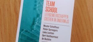 folder met tekst teamschool