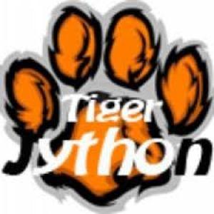 Logo TigerJython - tekening tijgerpoot