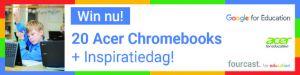 Banner Chromebooks wedstrijd
