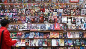 Winkel met graphic novels