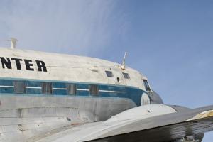 romp en vleugel van een vliegtuig