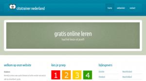 Screenshot website Leestrainer
