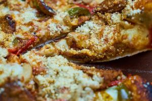 stuk pizza