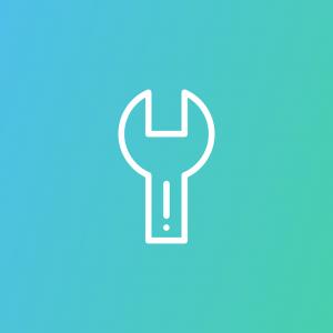 icoontje van een moersleutel