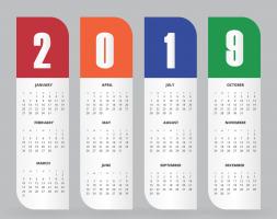 kalender van 2019